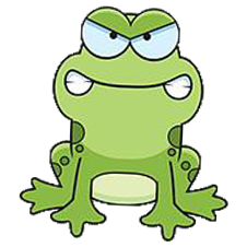 Gringo Go Home Angry Frog