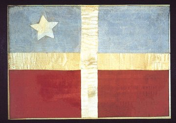 first flag of puerto rico